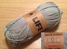 Økologisk GOTS certificeret bomuld du kan strikke dine egne økologiske karklude af