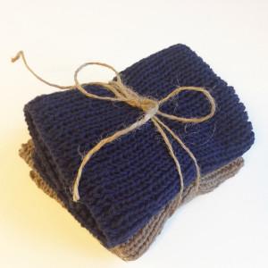 Strik bæredygtige karklude som gave