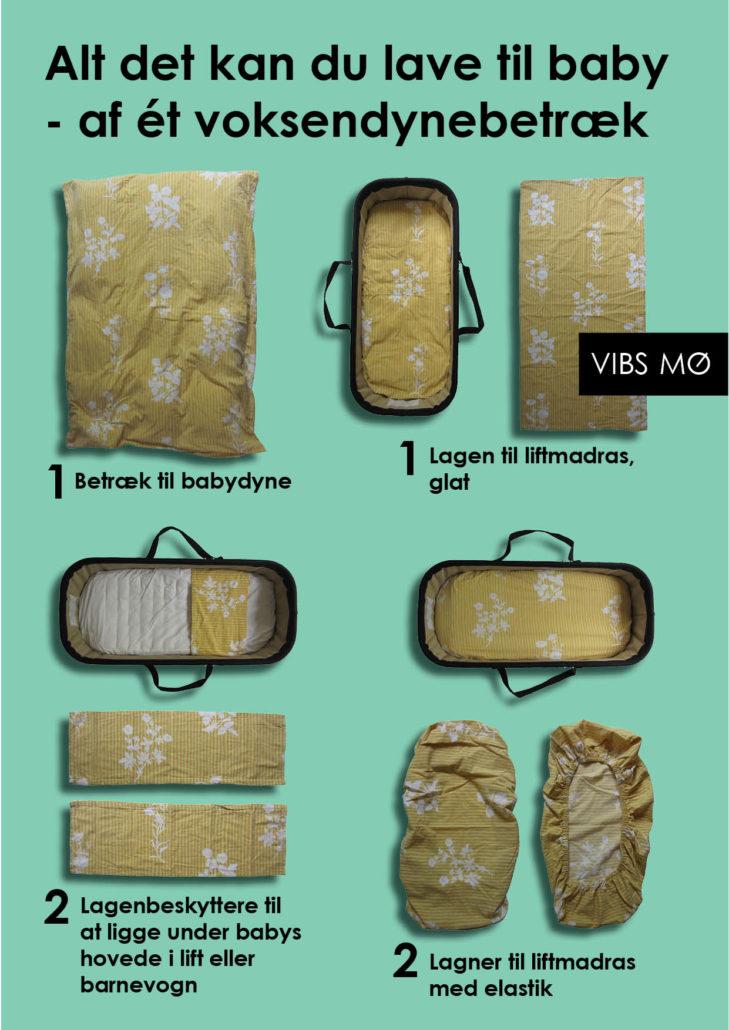 Seks ting du selv kan sy af et gammelt dynebetræk