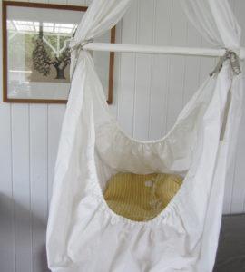 Sy selv lagen til slyngevugge madras DIY